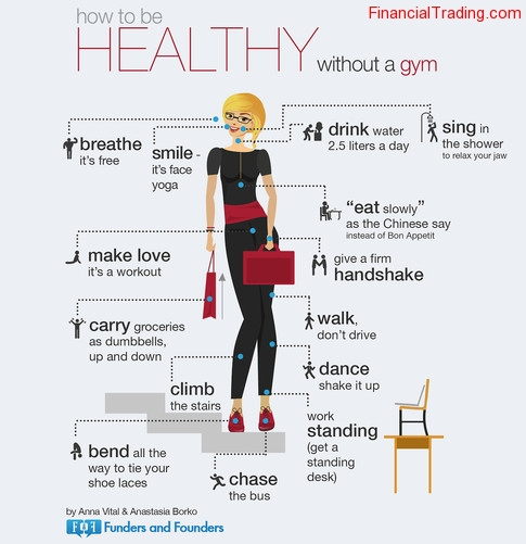 Healthy without gym