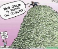Greed Hurting Economy