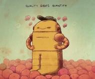 Quality Beats Quantity