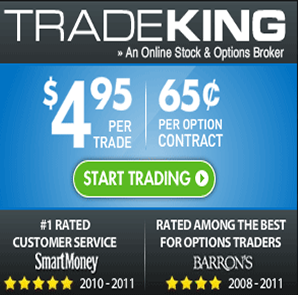 Trading options on tradeking