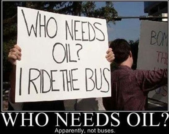 Who needs oil?